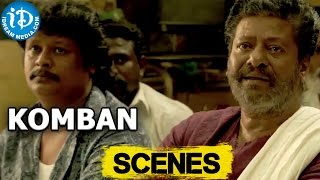 Komban Movie || Lakshmi Menon Marriage Proposal Scene || RajKiran, Kovai Sarala