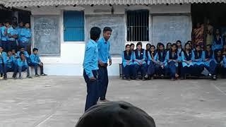 Children day dance government boys. Hr.se.school(4)