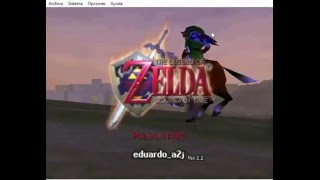 Descargar Legend of Zelda The Ocarina of Time en Español Para Project 64 2017 [MEGA] (Roy Juegos)