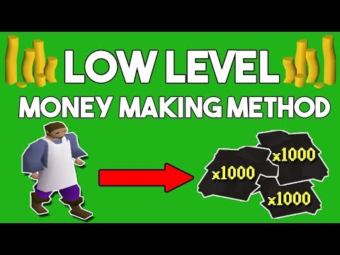 A Super Easy Low Level Money Making Method (700k/hr) Oldschool Runescape Money Making Guide [OSRS]