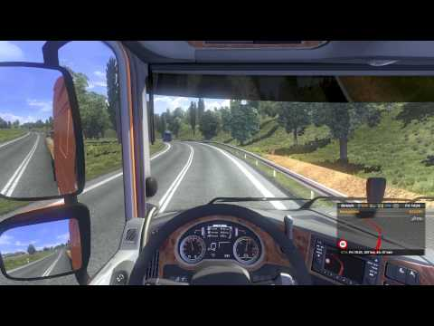 Euro Truck Simulator 2 - Patch 1.14 DAF XF Euro 6 Gameplay HD