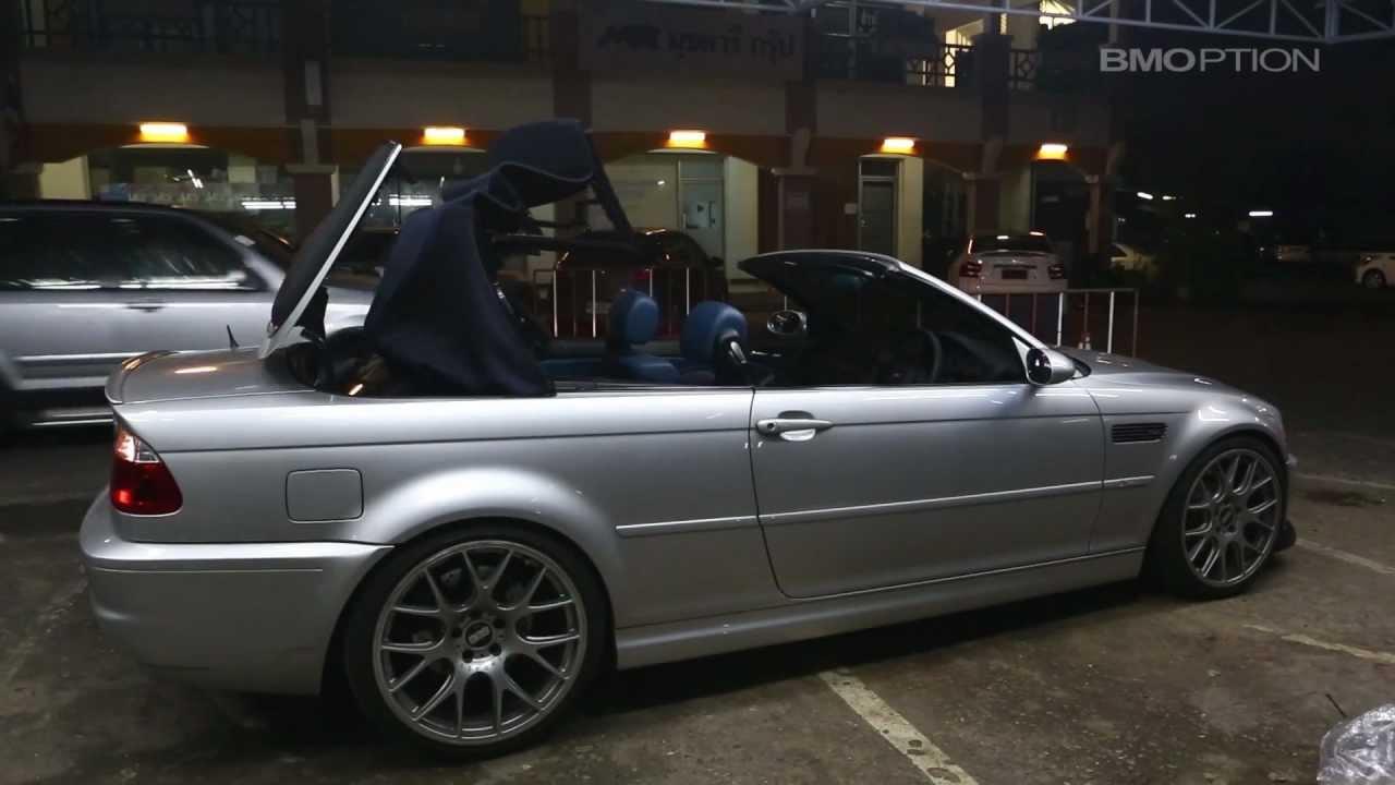 Bmw 2002 For Sale >> BMOPTION.com : SmartTOP for BMW 3er E46 Convertible - YouTube