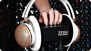 ASMR Mermaid Pillows, Headphones, Ear Peeling, Case Scratching/Tapping, Ear Brushing | 1 Hour 3Dio