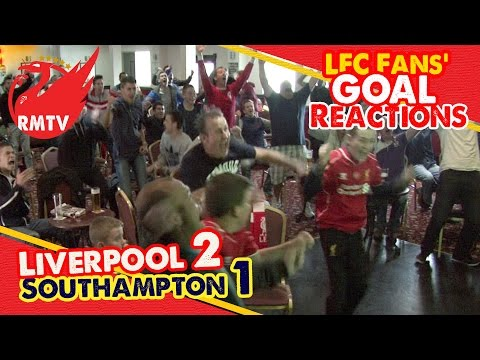 LFC Fan Goal Reactions: Liverpool 2-1 Southampton (17/08/14)