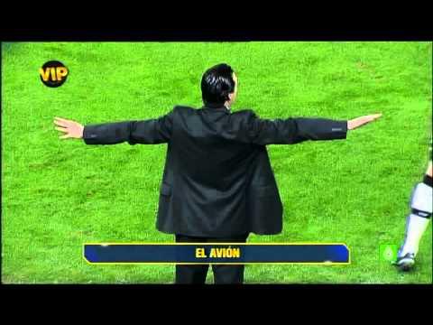 Los gestos de Unai Emery. Valencia - Espanyol 2/1/11
