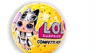 LOL Surprise Under Wraps Confetti POP Series 3 Unboxing Toy Dolls Eye Spy
