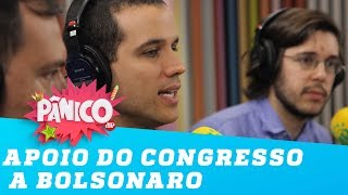 Felipe Moura Brasil sobre apoio do congresso a Bolsonaro: 'Eles se aproximam da boquinha'
