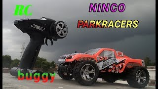 Ninco parkracera abyss RC CAR UNBOXING AND TESTING