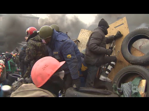First aid medics fired on in Ukraine