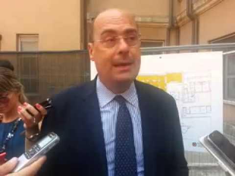 Il presidente Zingaretti visita i cantieri del Giubileo del PS del Santo Spirito