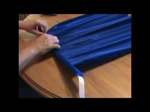 Como se hace una falda de papel crepe - Imagui