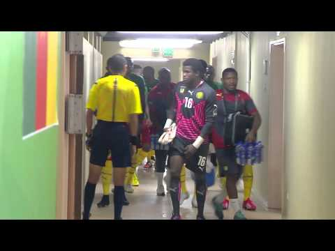In the tunnel before Cameroon vs Guinea - Orange Africa Cup of Nations, EQUATORIAL GUINEA 2015