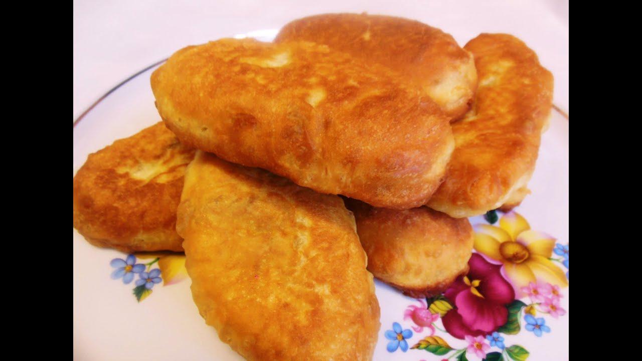Как сделать тесто для жареных пирожков без яиц