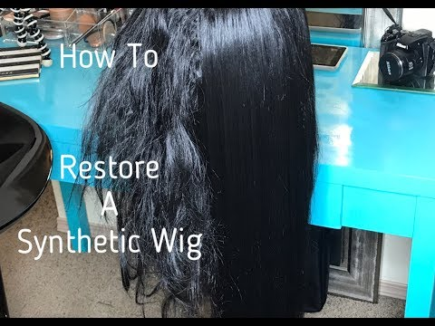How to RESTORE/REVIVE a synthetic wig