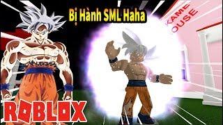 Roblox - Biến Thành Tất Cả Các Trạng Thái SSJ Của Goku Từ SSJ Đến MUI Haha - Goku Simulator