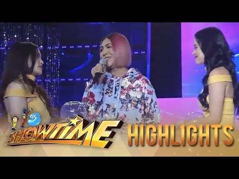 It's Showtime Miss Q & A: Heartrending lines with Vice, Bela and Ate Girl
