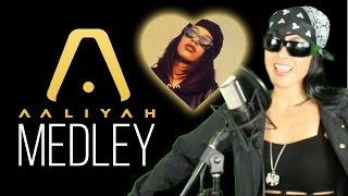 Aaliyah Medley - One in a Million, Try Again, 4 Page Letter + More