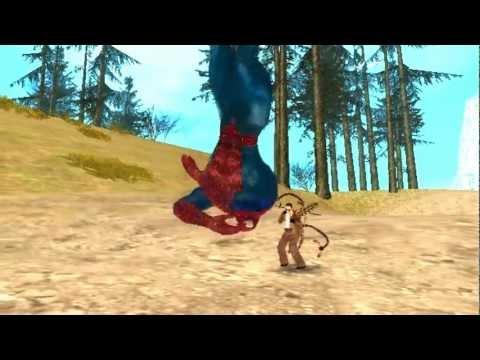 GTA San Andreas Spiderman 3 Mod Trailer BEST MUST WATCH 2012