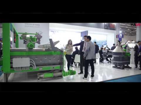 HAUS Santrifüj Teknolojileri Olivtech 2015 Fuar Stand Görüntüleri