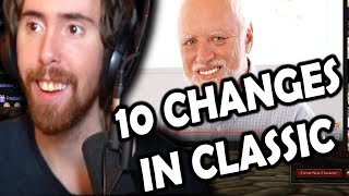 "Asmongold Reactions: ""Top 10 Differences Between WoW Classic & The Original Release"" by MadSeason"
