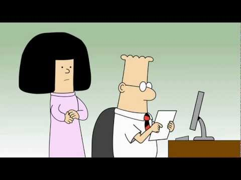 Dilbert Animated Cartoons - Customer Complaint; Catbert, Evil H.R. Director; and Spooky