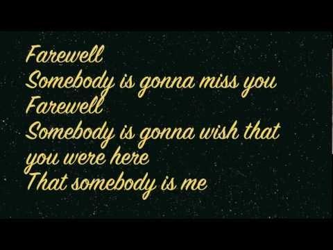 Rihanna - Farewell (lyrics On Screen) Hd video