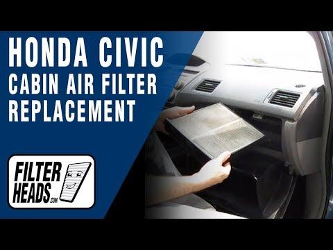 Cabin air filter replacement- Honda Civic