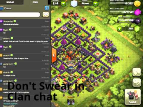 how to start a good clan in coc