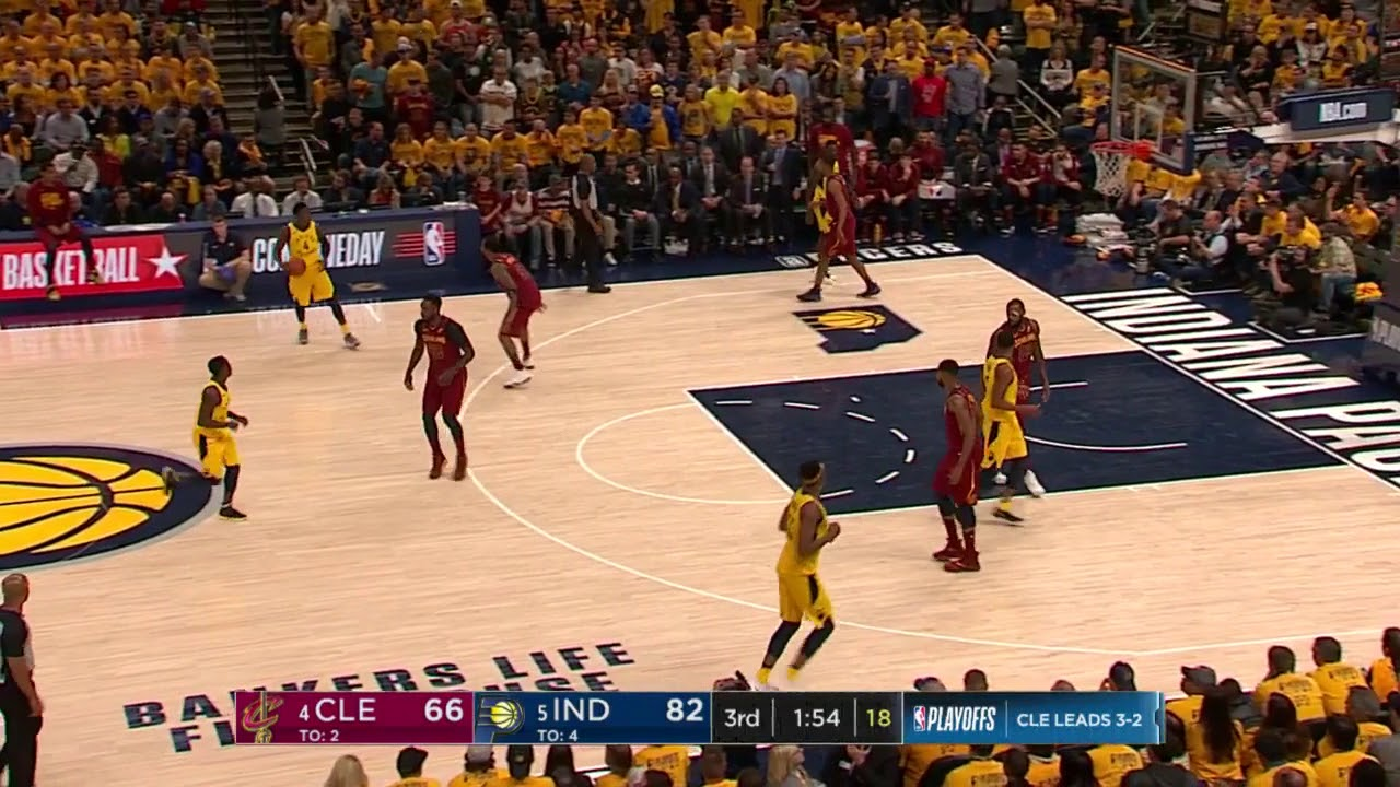 Victor Oladipo Notches Triple-Double (28/13/10) to Lead Pacers to Game 6 Win over Cavs