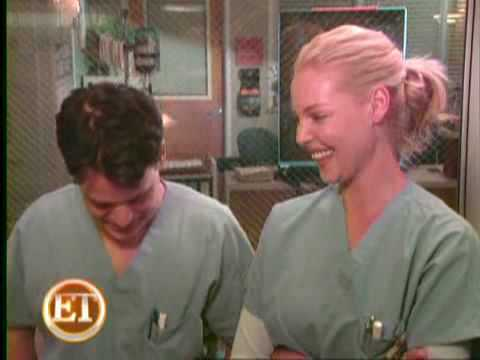 Grey's Anatomy Set Interview w/Katherine Heigl & TR Knight