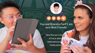 BEST FRIENDS with the #1 Pokémon GO Player in the WORLD!