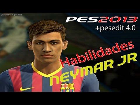 Neymar Jr. Habilidades / Stats Revision / PES 2013 + PESEDIT 4.0