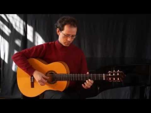 Flamenco Spanish Guitar rumba flamenca .Excellent video !!!.Yannick lebossé