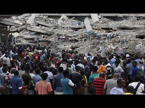 Nigeria  Church Building Collapse Dozens Killed
