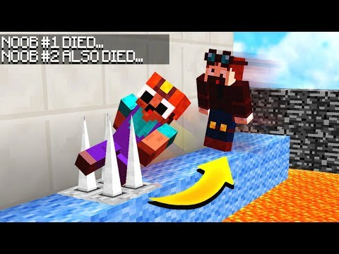 IF YOUR FRIEND DIES, YOU DIE! (Minecraft LAVA PARKOUR!)