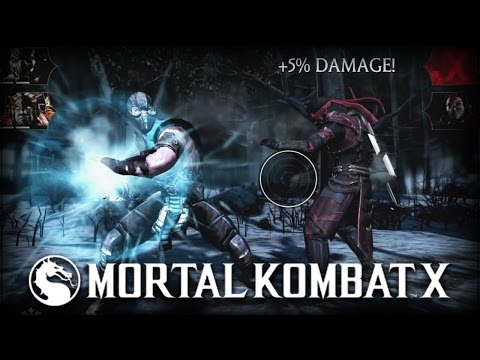 Mortal Kombat X: Mobile Gameplay Preview! (android Version) video