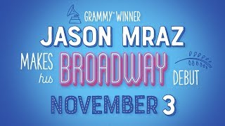 Jason Mraz Joins The Cast of Waitress The Musical