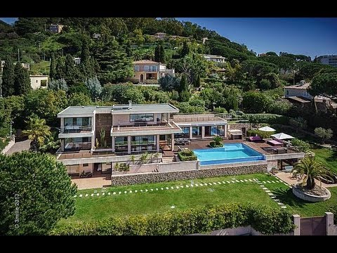 Luxury villa for rent cannes location villa for Villa de luxe contemporaine