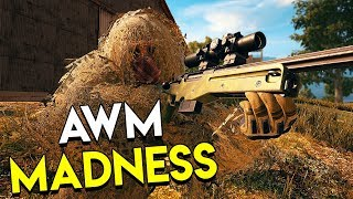 AWM MADNESS! - PUBG (PlayerUnknown's Battlegrounds Full Game)