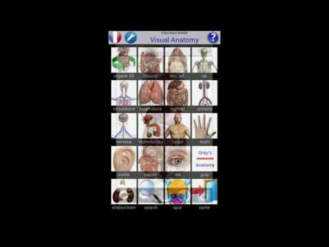 Visual Anatomy 2 screenshot for Android