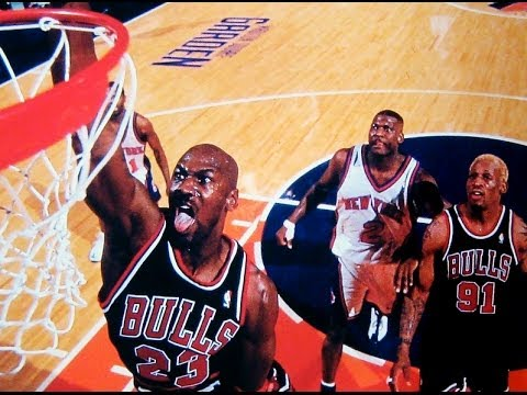 Bulls vs. Knicks at Madison Square Garden - 1998 season (NBA on NBC)
