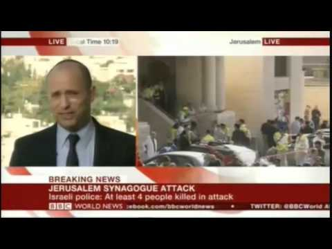 Full Naftali Bennett BBC interview on BBC.