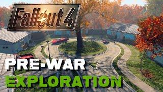 Pre War Exploration - Fallout 4