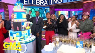 'GMA' Hot List: Robin Roberts celebrates 3 decades at Disney