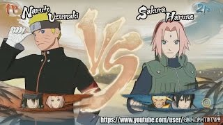 Naruto Ninja Storm 4™ Gameplay #08 - Naruto, Sasuke and Sakura The Last vs Team 7!