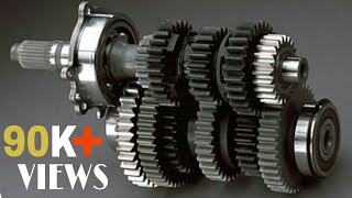 Synchromesh Gearbox in 3d Animation.