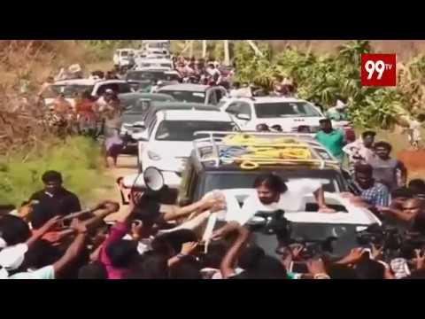 తిత్లీ తుఫాను బాధిత ప్రాంతంలో జనసేనాని పర్యటన Live | Srikakulam | Titli | 99TV Telugu