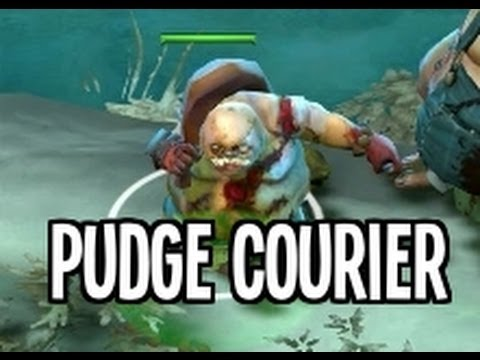 Dota2 FREE Mini Pudge Courier and Dragonclaw SKELETON chain