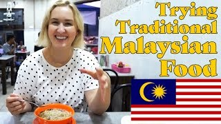 Trying Traditional Malaysian Food