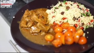 Whippin In Da Kitchen [Ep 8] Moroccan Lamb & Couscous @RD_MusicUpdates | Grime Report Tv